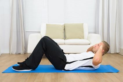 bauch weg 15 minuten training zu hause